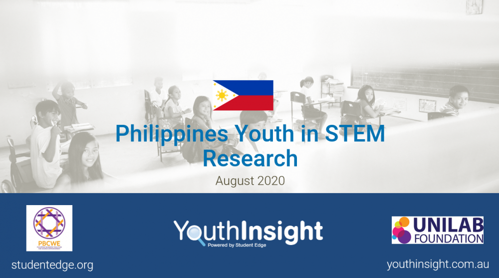Philippines STEM 2020 Report Title Page